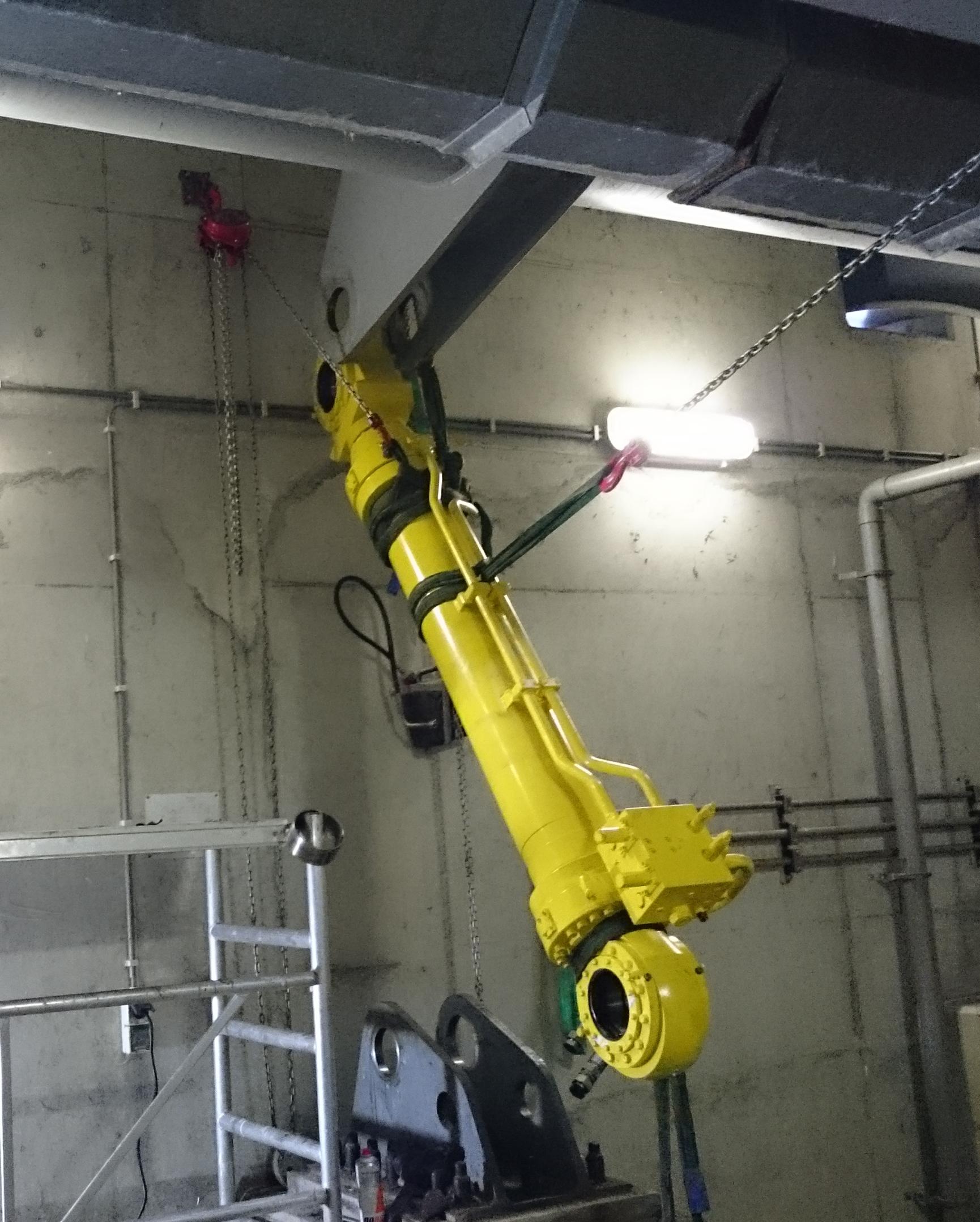 cilinder oosterhornbrug